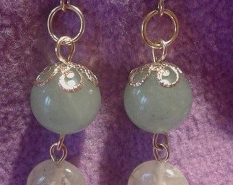 Venturina and stones earrings Tallio