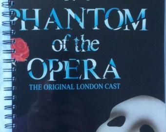1987 Phantom of the Opera Notebook