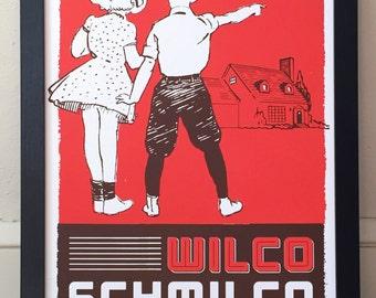 Wilco Schmilco Screenprint Gig Poster