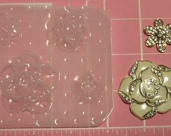 flowers and crown Mold