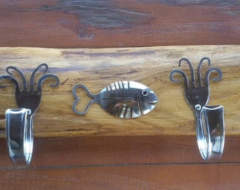 Wall hanger, fork and spoon wall decor