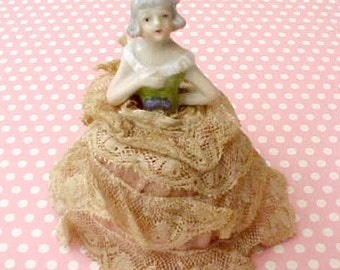 Dainty and Adorable Little German Pincushion Doll