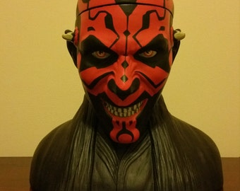 Official Star Wars Darth Maul Bust Container