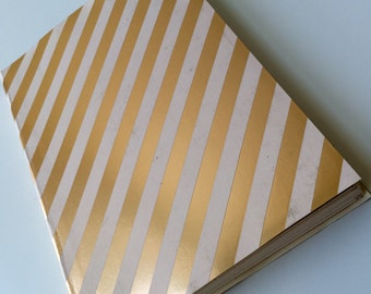 Gold Ribbon - Handcrafted Book