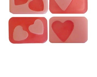 Be my Valentine? Heart Soap