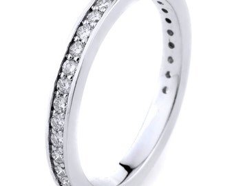 Beautiful 14k Gold Diamond Wedding Band