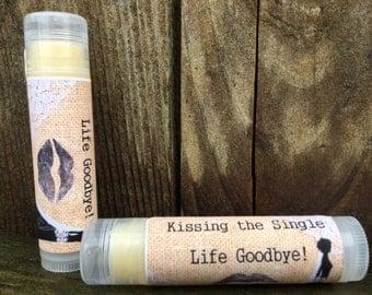 Rustic Bridal Shower Favors - Organic Lip Balm (lot of 20)