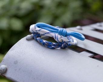 Paracord Bracelets | Nautical Blue | Three Pack