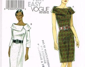 Vogue  8630 - Dress - Size 6, 8, 10, 12 - Uncut