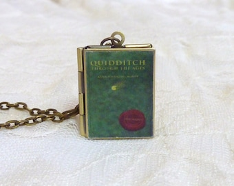 Quidditch Through the Ages Story Locket