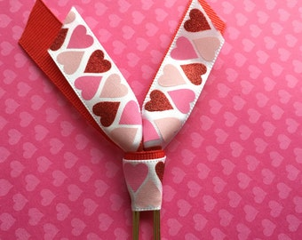 Valentine's Day Ribbon Clip