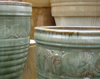 Beautiful Beige Pottery  #180