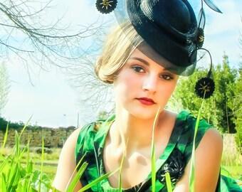 Designer hat handmade in parisisal straw