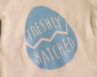 Easter. Fresh Hatched onesie.