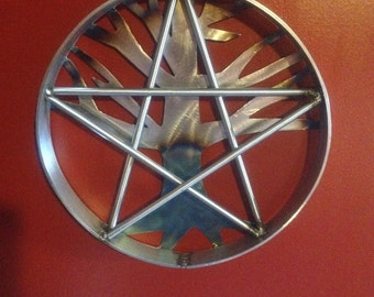 Welded Pentagram with Tree of Life