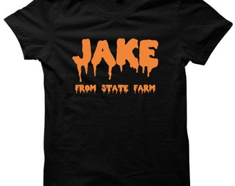 Halloween Shirt Jake From State Farm Halloween Outfit Ladies Shirts Mens Tees Halloween Costume Cheap #Scarecrow Halloween Party 2016