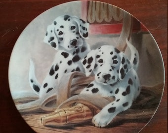 """Collectors Plate """"We've Been Spotted"""""""