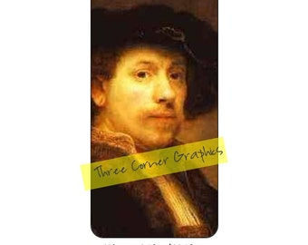 iPhone 6+ printable fine art case design, Rembrandt, DIY print at home iPhone accessories for 6 Plus, 6S Plus