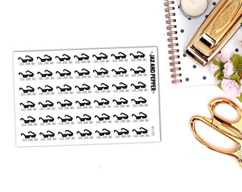 Cool Story Planner Stickers    42 stickers [S1-121]   