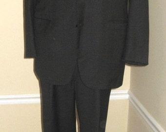 d'Avenza Hand Tailored Suit 48 L 36.5 x 31