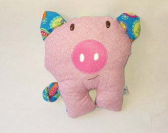 Piggy plushie - softie - baby toy-piggy cloth