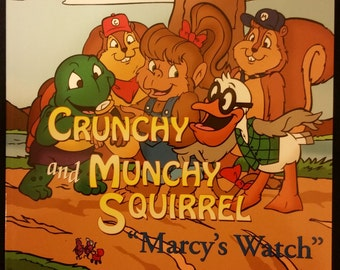 The Adventures of Crunchy and Munchy Squirrel 'Marcy's Watch'