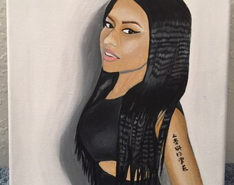 Nicki Minaj Painting