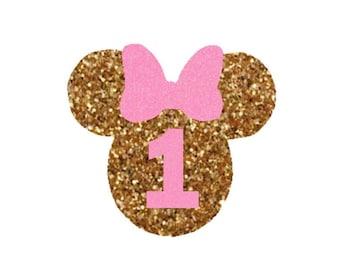Personalized 1st Birthday Iron On Gold By Sweetsignaturediy