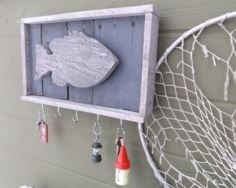 Wood Key Holder. Key Holder. Fish Key Holder. Wall Hanging Key Rack. Key Rack. Key Hooks. Key Storage. Rustic Key Rack. Fish Key Rack.