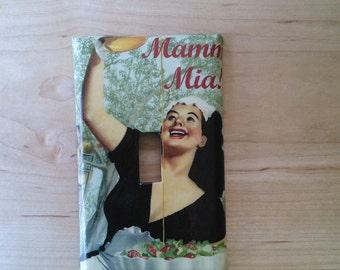 Mama Mia Switchplate