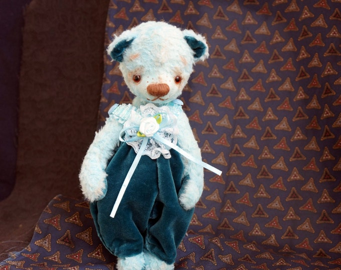 Handmade Remembrance, Memory, Keepsake Bear, Memory Bear, Memorial Bear, Stuffed Animal, Teddy Bear