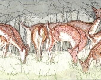 Fallow Deer (Original artwork)