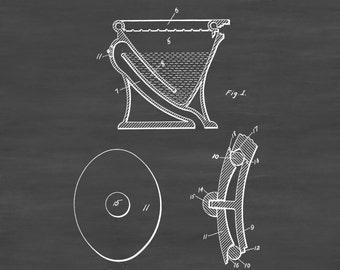 Water Closet Patent - Patent Print, Wall Decor, Bathroom Decor, Bathroom Art, Bathroom Poster, Bathroom Sign, Toilet Decor, Restroom Decor