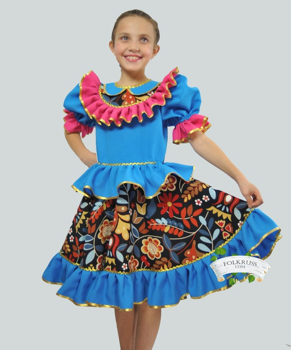 Russian Dance costume Lyabava