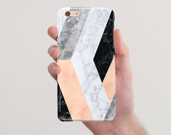 Marble iPhone 7 Case iPhone 7 Plus Case Geometric Case Marble Case iPhone 5 Case for Samsung S5 Case to Sumsung S6 Case for Sumsung Edge