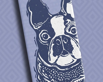 French Bulldog Phone Case | Custom Frenchy Phone Case | Custom iPod Case | Available in 8 Color Combinations