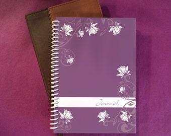 "Journal / Notebook / Sketchbook ~ Purple Plum ~ by Upward Journals (5"" x 7"")"