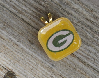 Green Bay Packers Jewelry, Packers, NFL, Packers Jewelry, resin jewelry
