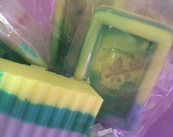 Goat milk soaps and bath bombs