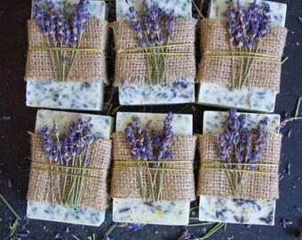 Lavender and Honey Lemon Soap