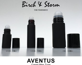 AVENTUS by CREED Men type - 100% Pure Perfume Fragrance Body Oil Roll On - Uncut - No Alcohol