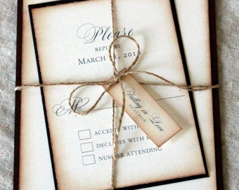 Fall Wedding Invitation, Autumn Invitations, Rustic Fall Wedding, Falling In Love, Fall Themed Invitations, Autumn Themed Wedding, Invites