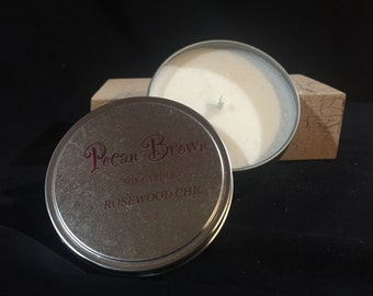 Rosewood Chic Soy Candle
