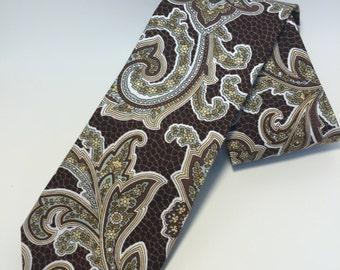 Floral/Paisley Tie - Floral Tie - Paisley Tie - Men's Tie - Formal Tie