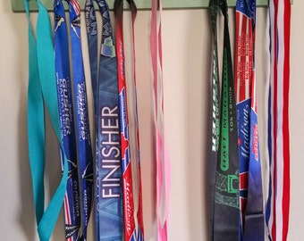 "Handmade Running Medal Hanger/Holder/Display ""I Run 'Pennsylvania'"""