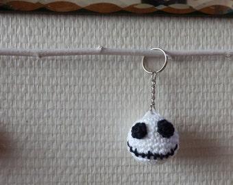 The strange Christmas Mr Jack - Keyring amigurumi crochet