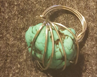 Robins Nest Wire RIng