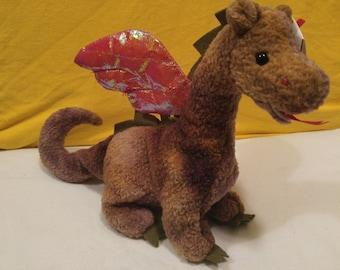 Scortch the Dragon Ty Beanie Baby 1998