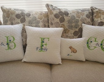 Family Pillow Set