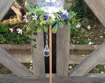 Fairy Wand | Garden Wand | Flower Girl | Costume Accessory | Garden Wedding